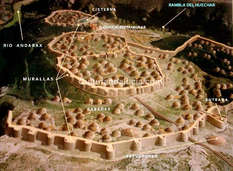 Reconstrucción de Los Millares. Vía culturandalucía.com