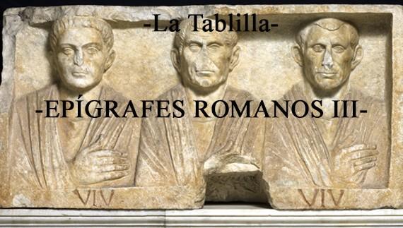 Descifrando epígrafes romanos III: El ejército.