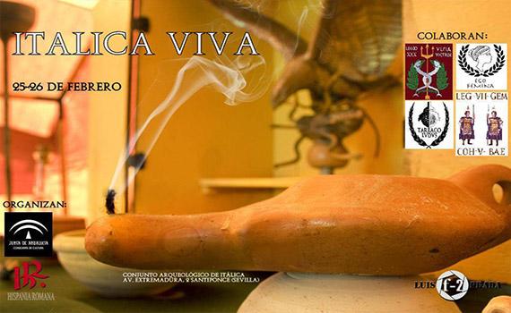 Itálica viva. Jornadas de recreación histórica (25-26 de Febrero)