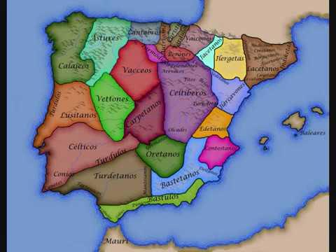 Celtas E Iberos Mapa.Peninsula Iberica Protohistorica Una Cuestion Entre Celtas