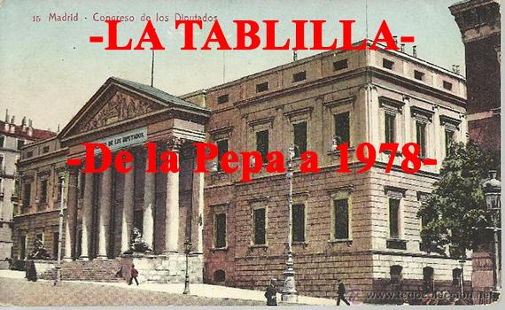 De la Pepa a 1978. El marco normativo español en Historia Contemporánea.