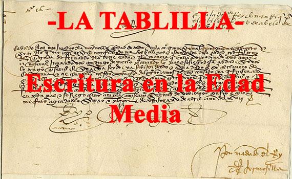 Escritura en la Edad Media