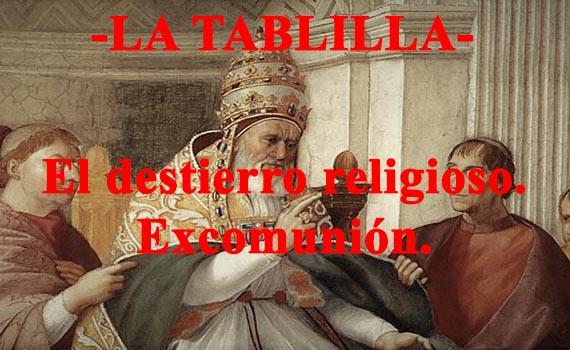 El destierro religioso como herramienta diplomática: En torno al concepto de excomunión.