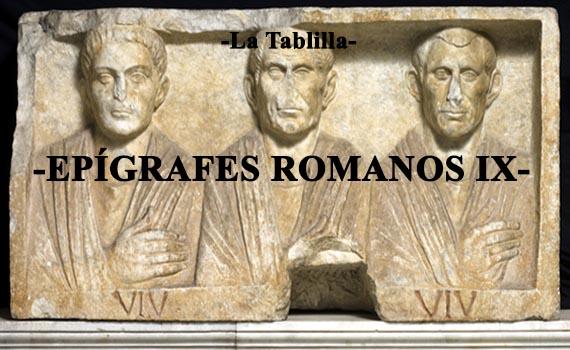 Descifrando epígrafes romanos IX: Plebeyos.