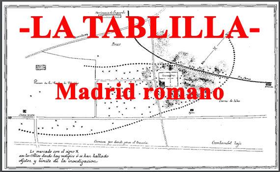 Madrid romano. Yacimientos en torno al río.