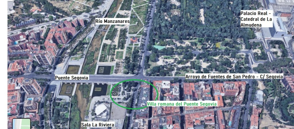 Yacimiento del Puente Segovia