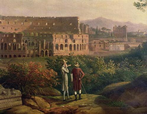 Goethe y el Coliseo